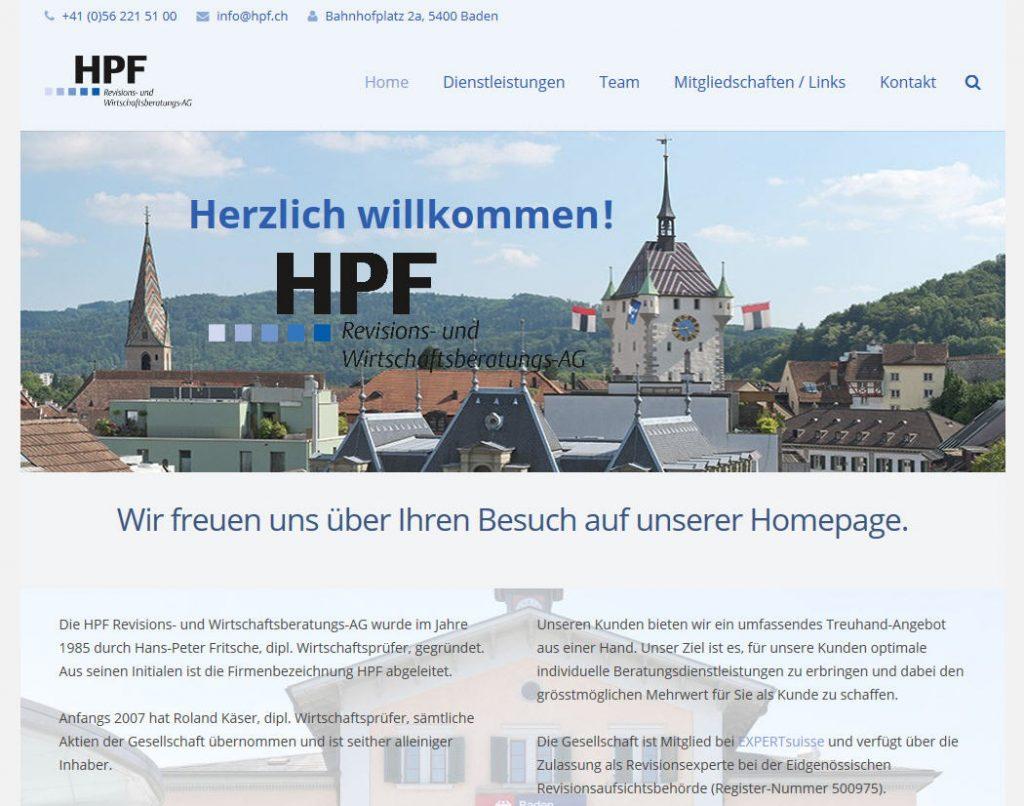 smart3 - Kunde HPF AG